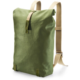Brooks Pickwick Canvas - Mochila bicicleta - 26l verde/Oliva